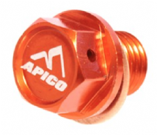 MAGNETIC SUMP DRAIN BOLT M12 X 12MM X 1.5 KTM/HUSKY SX/SX-F/EXC/EXC-F/TC/TE/TX/FC/FE/FX ALL ORANGE